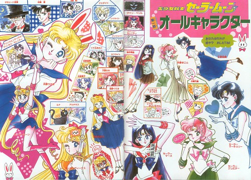 Naoko Takeuchi, Bishoujo Senshi Sailor Moon, BSSM Original Picture Collection Vol. I, Luna, Sailor V
