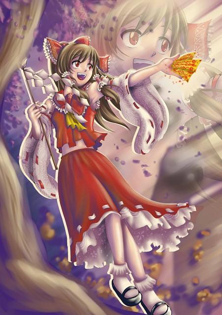 Touhou, Reimu Hakurei, Member Art