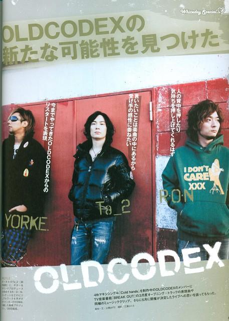 RON, Tatsuhisa Suzuki, Oldcodex