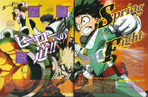 Kouhei Horikoshi, Boku no Hero Academia, Ochako Uraraka, Tenya Lida, Katsuki Bakugou