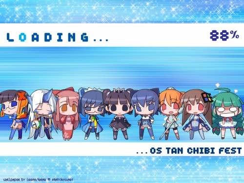OS-tan, Windows 2000-tan, Windows ME-tan, Windows XP-tan, Windows CE-tan Wallpaper