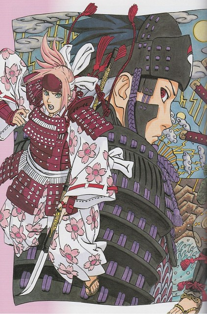 Masashi Kishimoto, Naruto, Sakura Haruno, Sasuke Uchiha