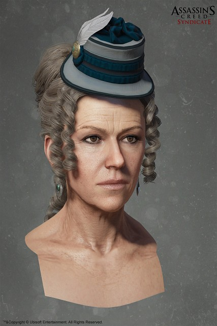 Ubisoft, Assassin's Creed Syndicate, Mary Anne Disraeli, Official Digital Art