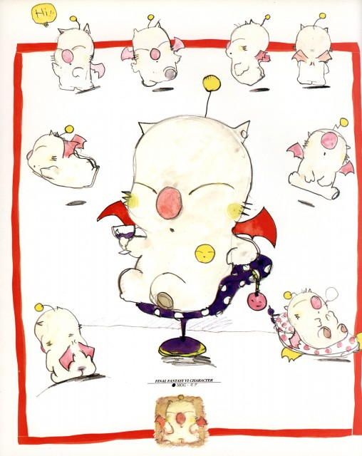 Square Enix, Final Fantasy VI, Moogle