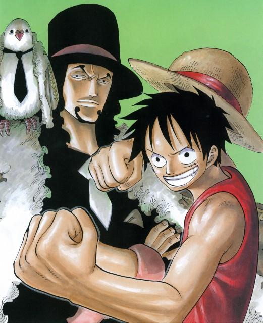 Eiichiro Oda, Toei Animation, One Piece, Color Walk 4 - Eagle, Hattori