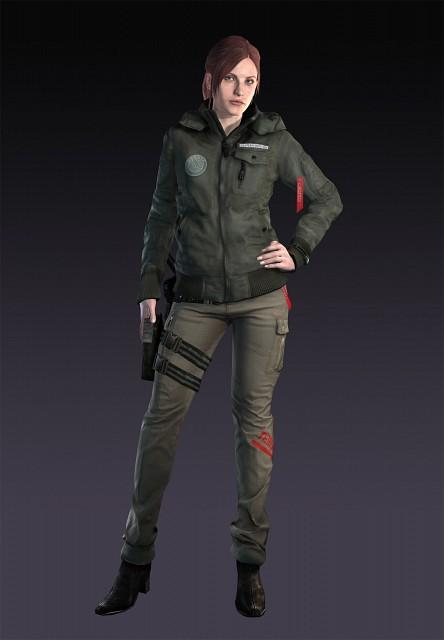 Capcom, Resident Evil: Revelations 2, Claire Redfield, Official Digital Art