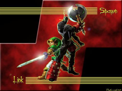 Namco, Soul Calibur, Spawn (Soul Calibur), Link Wallpaper