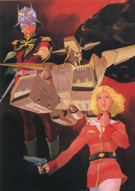 Yoshikazu Yasuhiko, Sunrise (Studio), Mobile Suit Gundam - Universal Century, Sayla Mass, Char Aznable