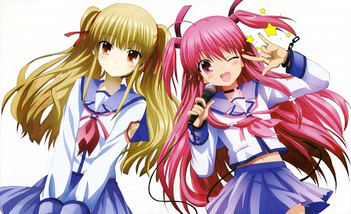 Na-Ga, Key (Studio), Angel Beats!, Angel Beats! Official Guide Book, Yusa (Angel Beats!)