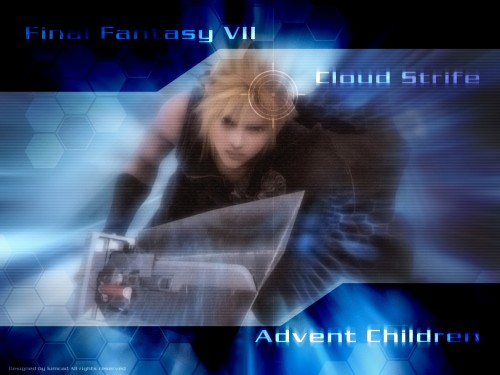 Square Enix, Final Fantasy VII: Advent Children, Cloud Strife Wallpaper
