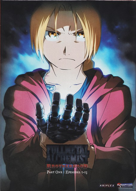 BONES, Fullmetal Alchemist, Edward Elric, DVD Cover
