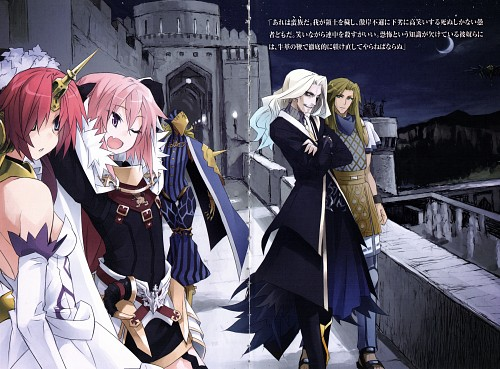 Ototsugu Konoe, TYPE-MOON, Fate/Apocrypha, Chiron (Fate/Apocrypha), Astolfo