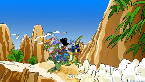 Akira Toriyama, Toei Animation, Dragon Ball, Son Goku, Bulma Wallpaper