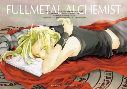 Yubinbasya, Fullmetal Alchemist, Edward Elric, Stationery, Doujinshi