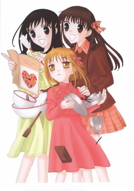 Natsuki Takaya, Fruits Basket, Kagura Sohma, Tohru Honda, Kisa Sohma
