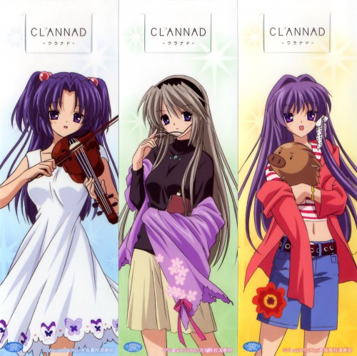Kyoto Animation, Clannad, Kyou Fujibayashi, Kotomi Ichinose, Botan (Clannad)