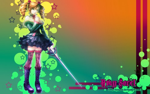 Namco, Soul Calibur, Amy Sorel Wallpaper