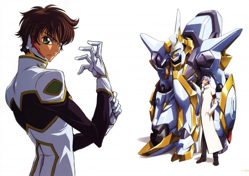 Takahiro Kimura, Sunrise (Studio), Lelouch of the Rebellion, Code Geass Ilustrations Rebels, Suzaku Kururugi