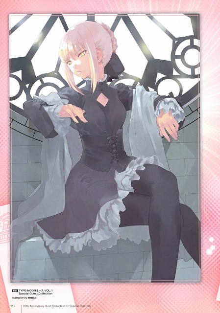 Takeshi Okazaki, TYPE-MOON, TYPE-MOON 10th Anniversary Phantasm, Fate/Hollow ataraxia, Saber Alter