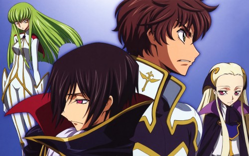 Takahiro Kimura, Sunrise (Studio), Lelouch of the Rebellion, Code Geass Ilustrations Rebels, V.V.