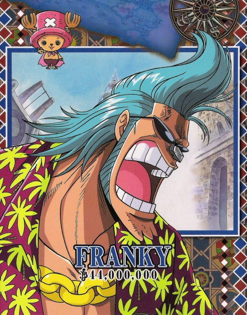 Eiichiro Oda, One Piece, Franky, Tony Tony Chopper