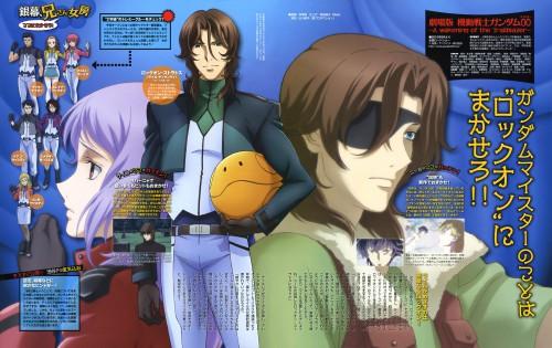 Sunrise (Studio), Mobile Suit Gundam 00, Anew Returner, Sumeragi Lee Noriega, Feldt Grace