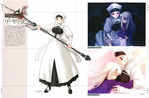 TYPE-MOON, Fate/complete material IV Extra material., Fate/stay night, Illyasviel von Einzbern, Leysritt