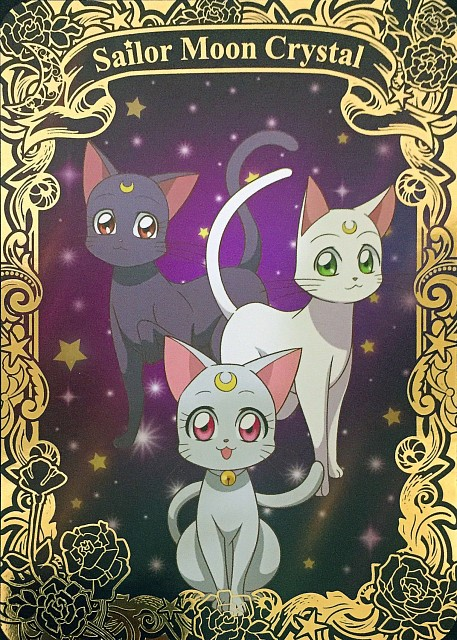 Toei Animation, Bishoujo Senshi Sailor Moon, Diana, Artemis, Luna