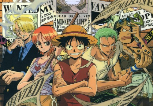 Eiichiro Oda, One Piece, Sanji, Usopp, Roronoa Zoro