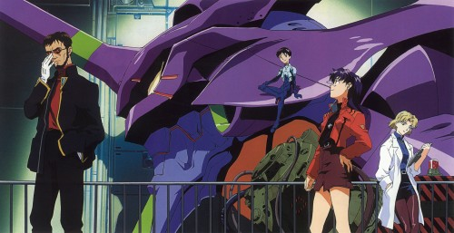 Yoshiyuki Sadamoto, Neon Genesis Evangelion, Die Sterne, Ritsuko Akagi, Shinji Ikari