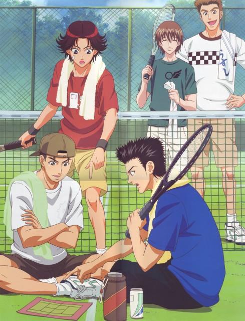 Takeshi Konomi, J.C. Staff, Prince of Tennis, Shusuke Fuji, Eiji Kikumaru