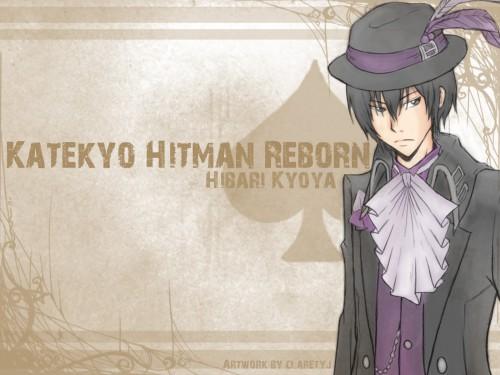 Akira Amano, Artland, Katekyo Hitman Reborn!, Kyoya Hibari, Member Art Wallpaper