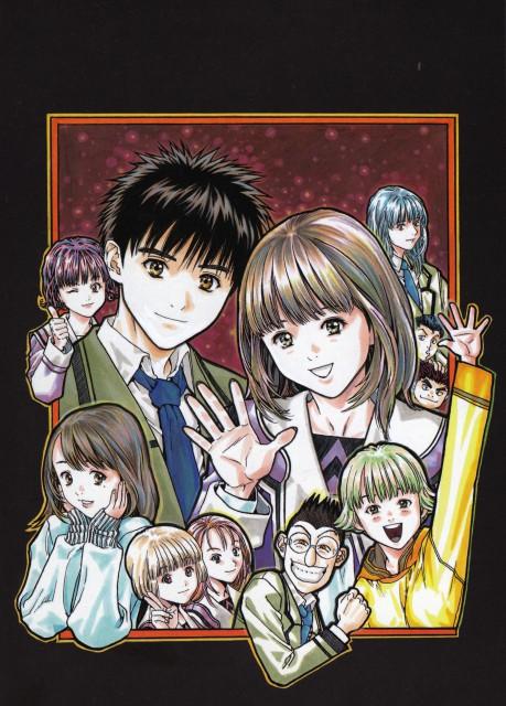 Masakazu Katsura, Aizu, Jun Koshinae, Izumi Isozaki, Nami Tachiba