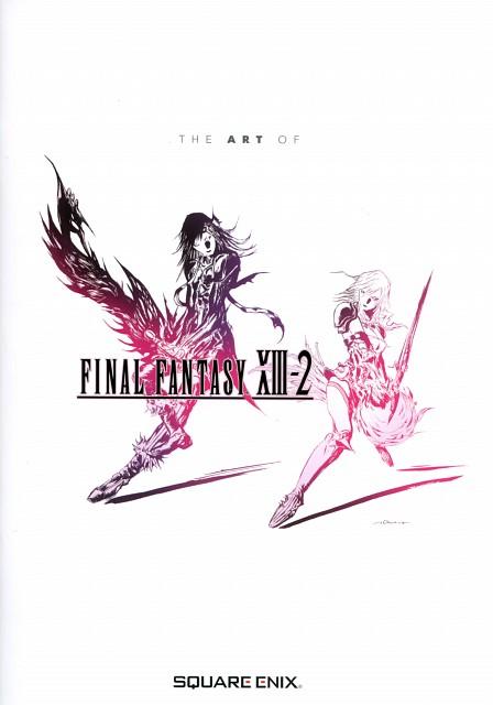 Yoshitaka Amano, Square Enix, Final Fantasy XIII, Caius Ballad, Lightning (FF XIII)