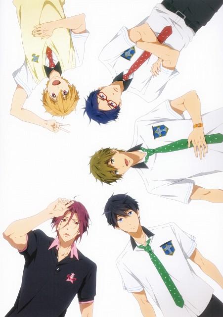 Nami Iwasaki, Kyoto Animation, Free!, Free! Illustration WORKS, Haruka Nanase (Free!)