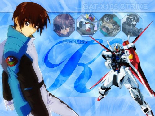 Sunrise (Studio), Mobile Suit Gundam SEED, Kira Yamato Wallpaper