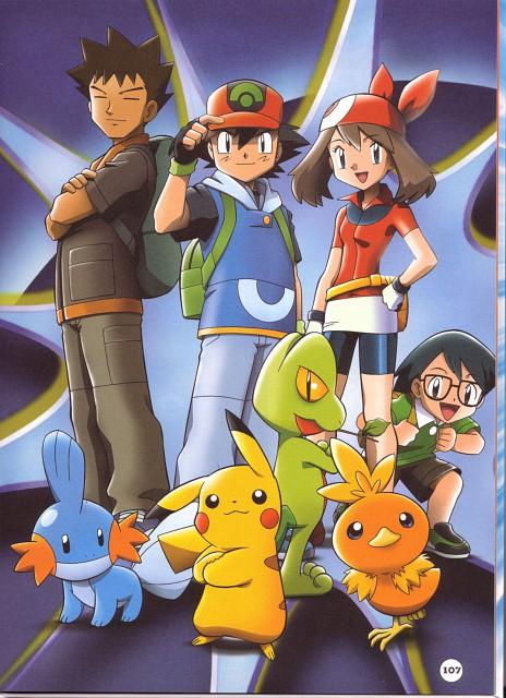 Nintendo, OLM Digital Inc, Pokémon, Brock, Mudkip