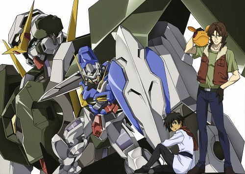 Sunrise (Studio), Mobile Suit Gundam 00, Mobile Suit Gundam 00 Illustrations Innovation, Lockon Stratos, Setsuna F. Seiei