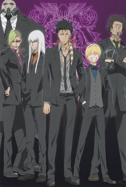 Akira Amano, Katekyo Hitman Reborn!, Superbi Squalo, Mammon (Katekyo Hitman Reborn!), Xanxus