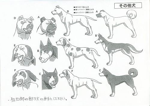 Yoshihiro Takahashi, Ginga: Nagareboshi Gin, Character Sheet