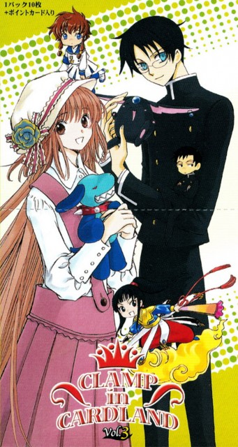 CLAMP, Angelic Layer, Shin Shunkaden, Kobato, xxxHOLiC