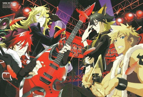 BONES, Show by Rock!!, Rom (Show by Rock!!), Yaiba, Aion (Show by Rock!!)