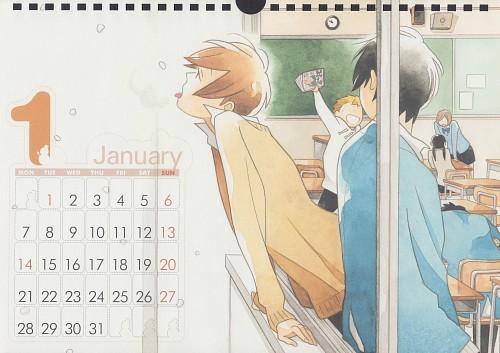 Kiichi Hotta, J.C. Staff, Kimi to Boku, Kimi to Boku Calendar 2013, Yuuki Asaba