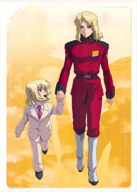 Sunrise (Studio), Mobile Suit Gundam SEED Destiny, Gundam SEED Destiny 2007 Calendar, Rey Za Burrel, Rau Le Creuset