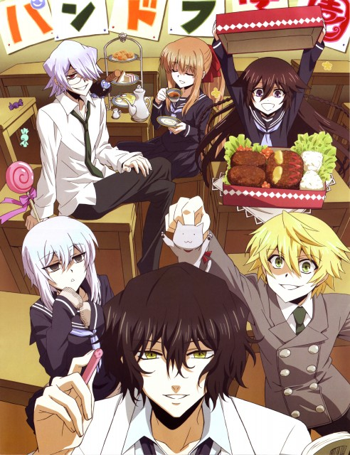Xebec, Pandora Hearts, Gilbert Nightray, Alice, Echo