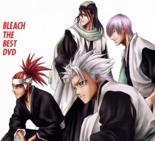 Studio Pierrot, Bleach, Byakuya Kuchiki, Gin Ichimaru, Toshiro Hitsugaya