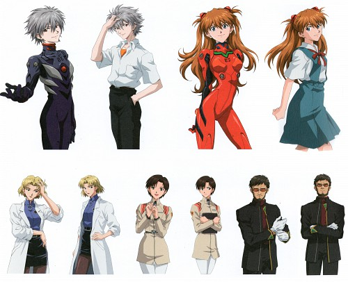 Yoshiyuki Sadamoto, Gainax, Khara, Neon Genesis Evangelion, Maya Ibuki