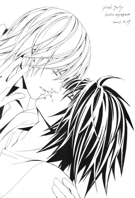 Death Note, Light Yagami, L, Doujinshi