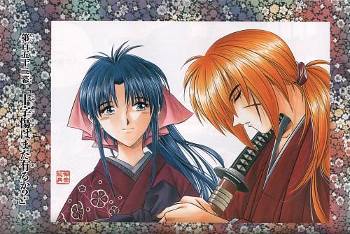 Nobuhiro Watsuki, Rurouni Kenshin, Kenshin Himura, Kaoru Kamiya