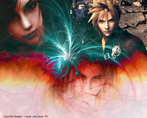 Square Enix, Final Fantasy VII: Advent Children, Tifa Lockhart, Sephiroth, Cloud Strife Wallpaper